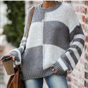 Vici Tic Tac Toe Sweater new